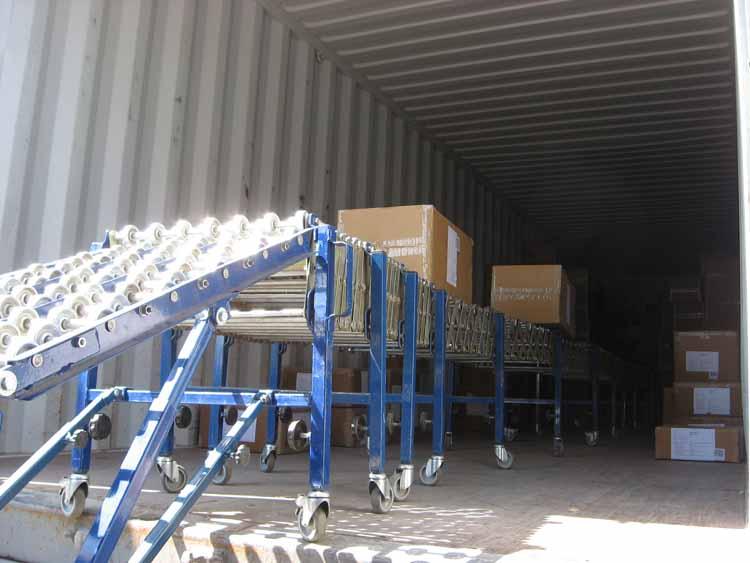 Transportador para carga de bultos sueltos